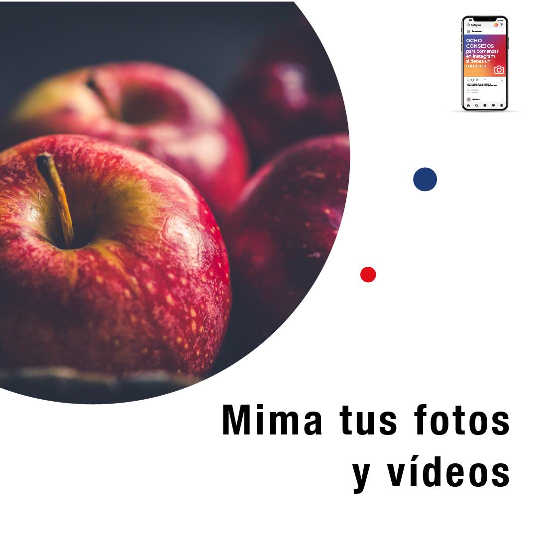 Mima tus fotos y videos