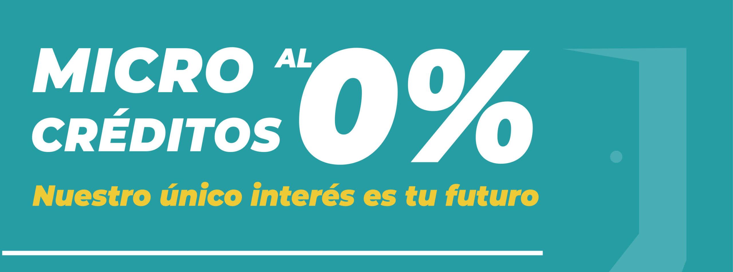 Microcréditos al 0%